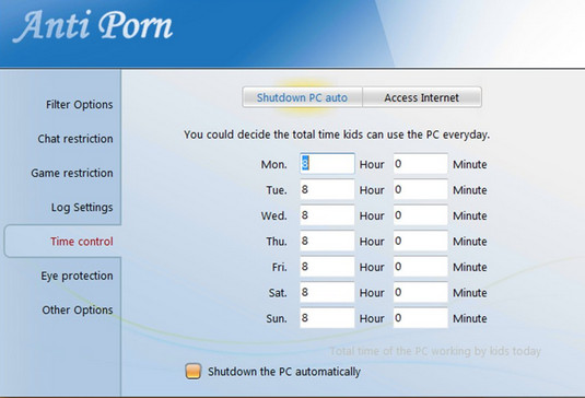 برنامج حجب المواقع الاباحية مجانا Free Anti-Porn