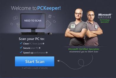 تحميل برنامج اصلاح وصيانة للكمبيوتر PCKeeper مجانا