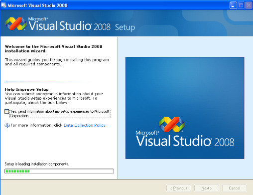تحميل برنامج الفيجوال بيسك 2008 برابط مباشر