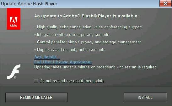 تحميل برنامج تشغيل الفيديو فلاش بلير Flash Player