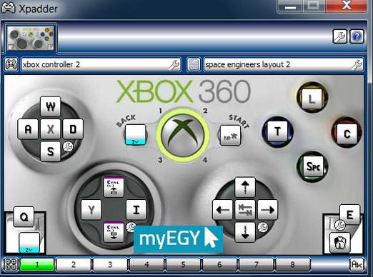 برنامج xpadder لتشغيل جميع أيدى التحكم مع ألعاب الكمبيوتر