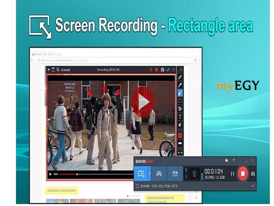 تحميل برنامج تسجيل فيديو صوت وصورة من الكمبيوتر
