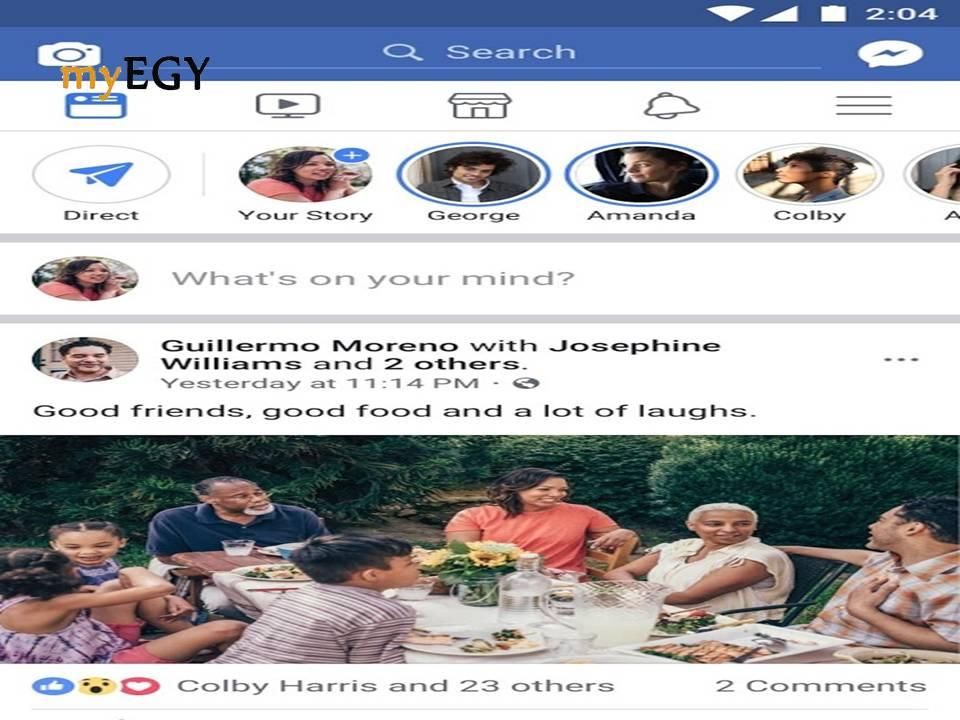 تحميل برنامج فيس بوك شات للكمبيوتر Facebook 2018