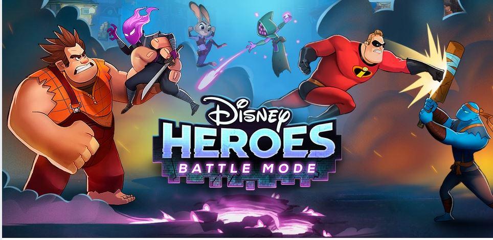 تحميل لعبة disney heroes battle mode للاندرويد